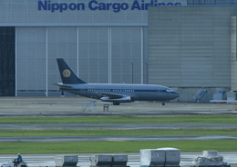 ☆naka☆さんが、成田国際空港で撮影したスカイ・アヴィエーション 737-2W8/Advの航空フォト(飛行機 写真・画像)