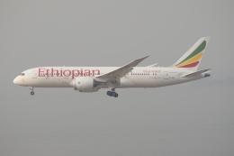 磐城さんが、香港国際空港で撮影したエチオピア航空 787-8 Dreamlinerの航空フォト(飛行機 写真・画像)