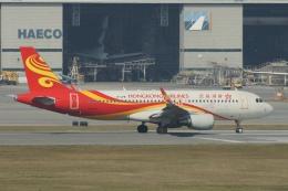 磐城さんが、香港国際空港で撮影した香港航空 A320-214の航空フォト(飛行機 写真・画像)