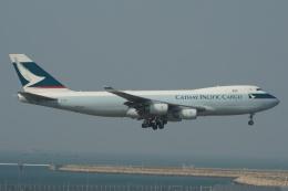 磐城さんが、香港国際空港で撮影したキャセイパシフィック航空 747-467F/SCDの航空フォト(飛行機 写真・画像)