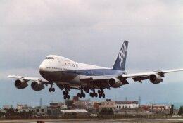 なかすぃ~さんが、伊丹空港で撮影した全日空 747SR-81の航空フォト(飛行機 写真・画像)