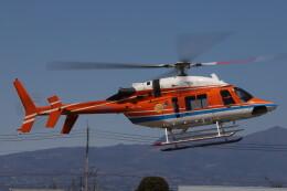 redarrowさんが、群馬ヘリポートで撮影した新日本ヘリコプター 427の航空フォト(飛行機 写真・画像)