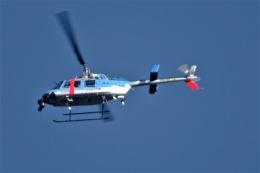 レドームさんが、?で撮影した神奈川県警察 206L-4 LongRanger IVの航空フォト(飛行機 写真・画像)
