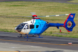 yabyanさんが、名古屋飛行場で撮影した中日新聞社 EC135P2の航空フォト(飛行機 写真・画像)
