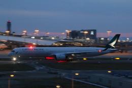 yutopさんが、関西国際空港で撮影したキャセイパシフィック航空 A350-1041の航空フォト(飛行機 写真・画像)