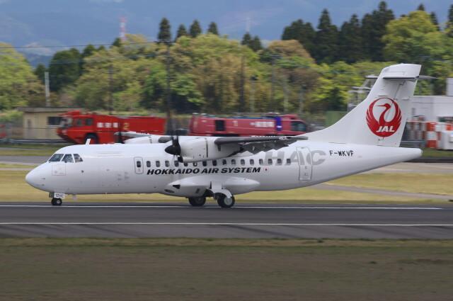 VIPERさんが、鹿児島空港で撮影したATR ATR-42-600の航空フォト(飛行機 写真・画像)