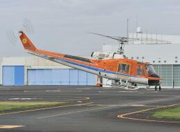 パンサーRP21さんが、東京ヘリポートで撮影した新日本ヘリコプター 204B-2(FujiBell)の航空フォト(飛行機 写真・画像)