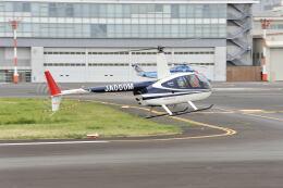 パンサーRP21さんが、東京ヘリポートで撮影した日本法人所有 R44 Ravenの航空フォト(飛行機 写真・画像)