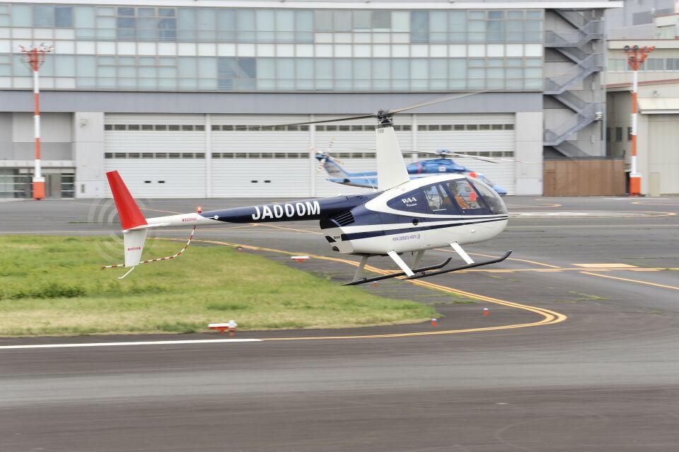 パンサーRP21さんの日本法人所有 Robinson R44 (JA000M) 航空フォト