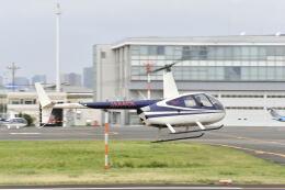 パンサーRP21さんが、東京ヘリポートで撮影した日本法人所有 R44 Raven IIの航空フォト(飛行機 写真・画像)