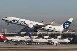 takoyanさんが、ロサンゼルス国際空港で撮影したアラスカ航空 737-990/ERの航空フォト(飛行機 写真・画像)