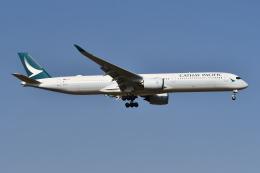 Deepさんが、成田国際空港で撮影したキャセイパシフィック航空 A350-1041の航空フォト(飛行機 写真・画像)