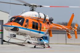 K-9さんが、群馬ヘリポートで撮影した新日本ヘリコプター 427の航空フォト(飛行機 写真・画像)