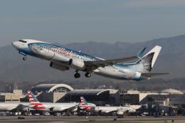 takoyanさんが、ロサンゼルス国際空港で撮影したアラスカ航空 737-890の航空フォト(飛行機 写真・画像)