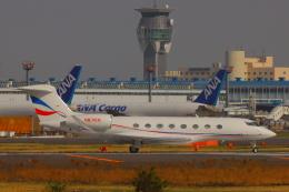た~きゅんさんが、成田国際空港で撮影したJet Edge G650 (G-VI)の航空フォト(飛行機 写真・画像)