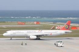 Mr.boneさんが、那覇空港で撮影したトランスアジア航空 A321-131の航空フォト(飛行機 写真・画像)