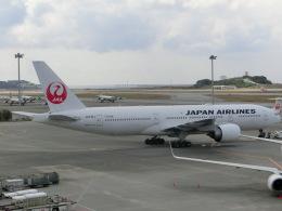 ヒロリンさんが、那覇空港で撮影した日本航空 777-246/ERの航空フォト(飛行機 写真・画像)