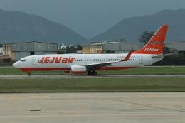 磐城さんが、ダナン国際空港で撮影したチェジュ航空 737-8ASの航空フォト(飛行機 写真・画像)