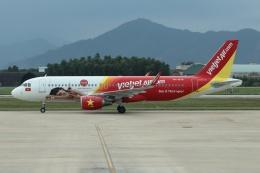 磐城さんが、ダナン国際空港で撮影したベトジェットエア A320-214の航空フォト(飛行機 写真・画像)