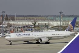 senyoさんが、成田国際空港で撮影したコンチネンタル航空 767-424/ERの航空フォト(飛行機 写真・画像)