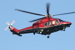 ゴンタさんが、東京ヘリポートで撮影した三井物産エアロスペース AW139の航空フォト(飛行機 写真・画像)