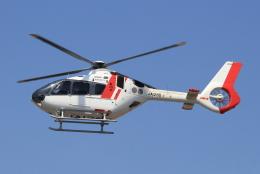 キイロイトリさんが、八尾空港で撮影した中日本航空 EC135P3の航空フォト(飛行機 写真・画像)