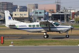 キイロイトリさんが、八尾空港で撮影したアジア航測 208 Caravan Iの航空フォト(飛行機 写真・画像)