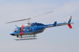 キイロイトリさんが、八尾空港で撮影した大阪府警察 206L-4 LongRanger IVの航空フォト(飛行機 写真・画像)