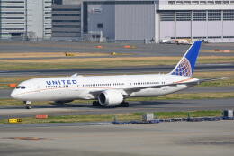LEGACY-747さんが、羽田空港で撮影したユナイテッド航空 787-9の航空フォト(飛行機 写真・画像)