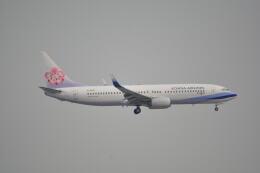 LEGACY-747さんが、香港国際空港で撮影したチャイナエアライン 737-809の航空フォト(飛行機 写真・画像)