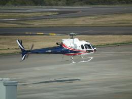 ヒコーキグモさんが、岡山空港で撮影したノエビア AS350B3 Ecureuilの航空フォト(飛行機 写真・画像)