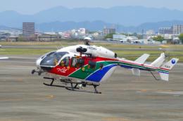 yabyanさんが、名古屋飛行場で撮影した茨城県防災航空隊 BK117C-2の航空フォト(飛行機 写真・画像)