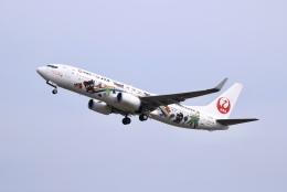 桃太郎LINEさんが、岡山空港で撮影した日本トランスオーシャン航空 737-8Q3の航空フォト(飛行機 写真・画像)