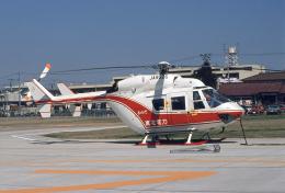 東北電力仙台ヘリポートで撮影された東北電力 - Tohoku-Electric Powerの航空機写真