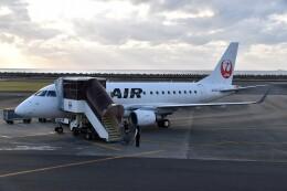 こじゆきさんが、徳之島空港で撮影したジェイエア ERJ-170-100 (ERJ-170STD)の航空フォト(飛行機 写真・画像)