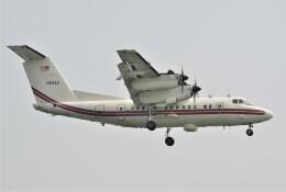海山さんが、岩国空港で撮影したアメリカ陸軍 EO-5C Dash 7 (DHC-7/RC-7B)の航空フォト(飛行機 写真・画像)