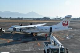 こじゆきさんが、鹿児島空港で撮影した日本エアコミューター ATR-72-600の航空フォト(飛行機 写真・画像)