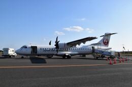 こじゆきさんが、屋久島空港で撮影した日本エアコミューター ATR-72-600の航空フォト(飛行機 写真・画像)