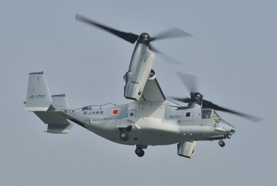 海山さんの陸上自衛隊 Bell Boeing V-22 (91707) 航空フォト