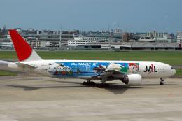 航空フォト:JA771J 日本航空 777-200