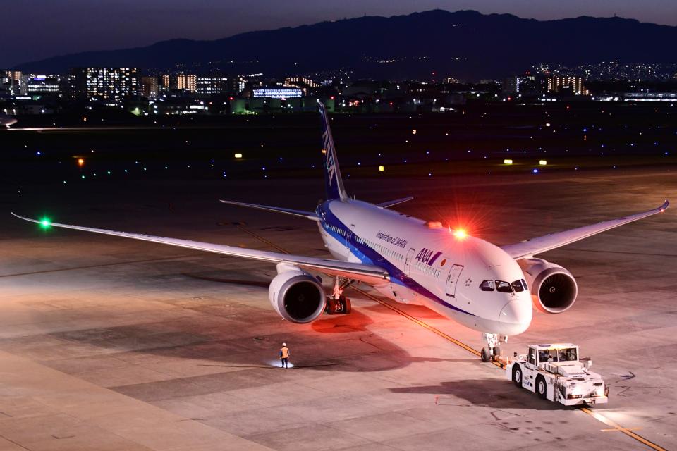 TOPAZ102さんの全日空 Boeing 787-8 Dreamliner (JA878A) 航空フォト