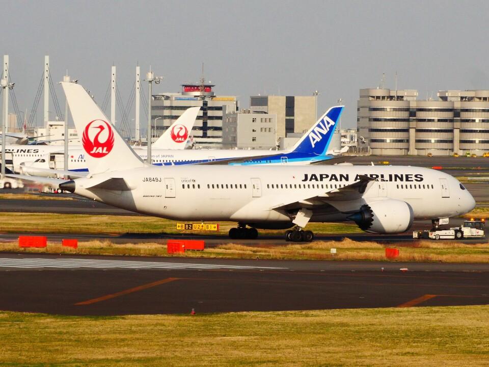 mich_stoneさんの日本航空 Boeing 787-8 Dreamliner (JA849J) 航空フォト