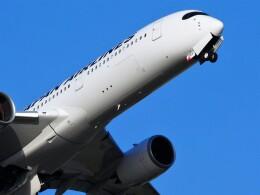 mich_stoneさんが、羽田空港で撮影した日本航空 A350-941の航空フォト(飛行機 写真・画像)