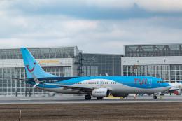 gomaさんが、ミュンヘン・フランツヨーゼフシュトラウス空港で撮影したトゥイフライ 737-8BKの航空フォト(飛行機 写真・画像)