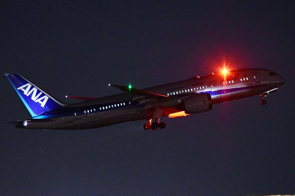 TOPAZ102さんの全日空 Boeing 787-8 Dreamliner (JA824A) 航空フォト