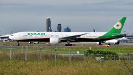 saoya_saodakeさんが、成田国際空港で撮影したエバー航空 777-36N/ERの航空フォト(飛行機 写真・画像)