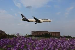 flyskyさんが、成田国際空港で撮影したルフトハンザ・カーゴ 777-Fの航空フォト(飛行機 写真・画像)