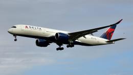 saoya_saodakeさんが、成田国際空港で撮影したデルタ航空 A350-941の航空フォト(飛行機 写真・画像)