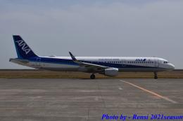 れんしさんが、山口宇部空港で撮影した全日空 A321-211の航空フォト(飛行機 写真・画像)