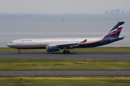 kuraykiさんが、羽田空港で撮影したアエロフロート・ロシア航空 A330-343Xの航空フォト(飛行機 写真・画像)